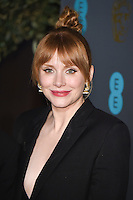 Bryce Dallas Howard<br /> at the 2017 BAFTA Film Awards After-Party held at the Grosvenor House Hotel, London.<br /> <br /> <br /> ©Ash Knotek  D3226  12/02/2017