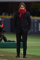 Filippo Inzaghi coach of Bologna reacts during the Italy Cup 2018/2019 football match between Bologna and Juventus at stadio Renato Dall'Ara, Bologna, January 12, 2019 <br />  Foto Andrea Staccioli / Insidefoto