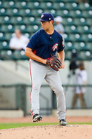 Potomac Nationals starting pitcher Matt Purke (38) delivers a pitch to the plate against the Winston-Salem Dash at BB&T Ballpark on July 8, 2013 in Winston-Salem, North Carolina.  The Dash defeated the Nationals 12-9.  (Brian Westerholt/Four Seam Images)