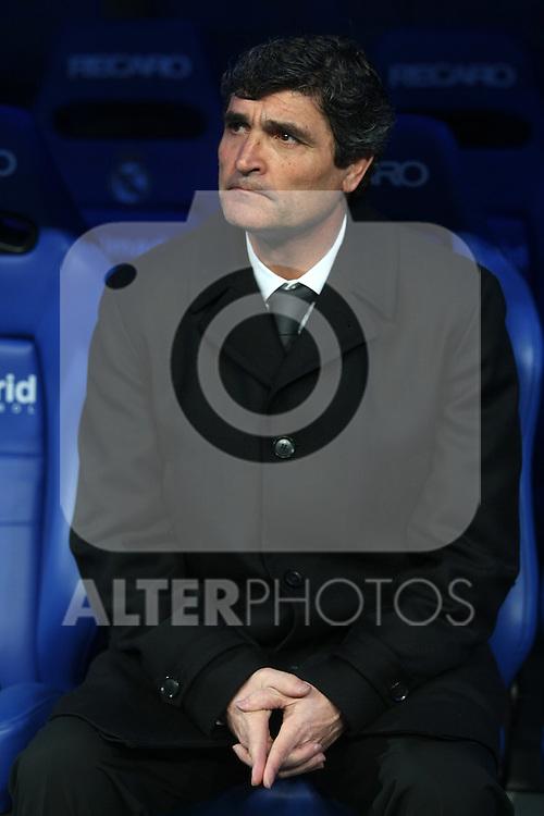 Real Madrid's coach Juande Ramos during La Liga match.January 25 2009. (ALTERPHOTOS/Acero).