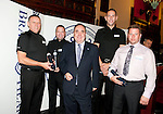 First Minister presents a 2011 Brave@Heart award to Police Constable James Sheen, Police Constable Russell Davidson, Police Constable Andrew King and Nigel Abbot..Pic Kenny Smith, Kenny Smith Photography.6 Bluebell Grove, Kelty, Fife, KY4 0GX .Tel 07809 450119,