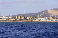 - chemical industrial area of Porto Torres (Sardinia)<br /> <br /> - area industriale chimica di Porto Torres (Sardegna)