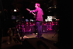 July 24, 2014. Carrboro, North Carolina.<br />  Alasdair MacLean of The Clientele.<br />  Day two of the MERGE 25 festival, celebrating the 25 year history of the independent record label.