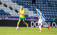 12th September 2020 The John Smiths Stadium, Huddersfield, Yorkshire, England; English Championship Football, Huddersfield Town versus Norwich City;  Teemu Pukki of Norwich City on the ball