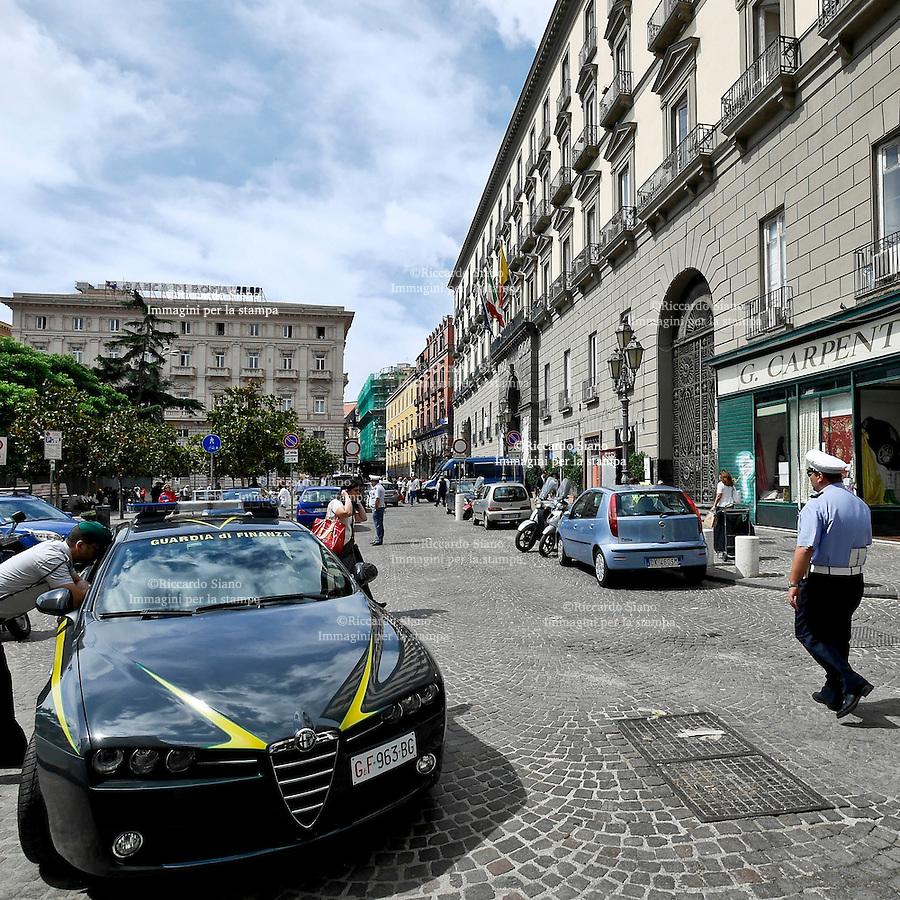 - NAPOLI 17 GIU  2014 -   Palazzo San Giacomo