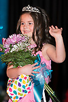 March 25, 2017- Tuscola, IL- Newly crowned 2017 Little Miss Julianne Steffens takes her first walk during the Miss Tuscola pageant. [Photo: Douglas Cottle]
