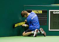12-2-10, Rotterdam, Tennis, ABNAMROWTT, Nicolai Davydenko, Jurgen Melzer