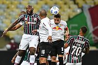 2nd June 2021; Maracana Stadium, Rio de Janeiro, Brazil; Copa do Brazil, Fluminense versus Red Bull Bragantino; Manoel of Fluminense climbs for the header