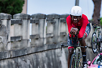 Teniel Campbell (TTO)<br /> <br /> Women Elite Time trial from Imola to Imola (31.7km)<br /> <br /> 87th UCI Road World Championships 2020 - ITT (WC)<br /> <br /> ©kramon
