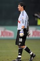 New York Red Bulls goalkeeper Jon Conway (18)  DC United defeated the New York Red Bulls 2-0, at RFK Stadium ,Thursday June 4, 2009.