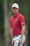 Justin Rose of England reacts to his last shot during Hong Kong Open golf tournament at the Fanling golf course on 25 October 2015 in Hong Kong, China. Photo by Xaume Olleros / Power Sport Images during Hong Kong Open golf tournament at the Fanling golf course on 25 October 2015 in Hong Kong, China. Photo by Xaume Olleros / Power Sport Images
