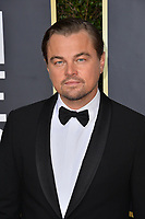 LOS ANGELES, USA. January 06, 2020: Leonardo DiCaprio arriving at the 2020 Golden Globe Awards at the Beverly Hilton Hotel.<br /> Picture: Paul Smith/Featureflash