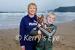 Tom and Deirdre Mullane enjoying the afternoon on Ballybunion beach on Sunday.