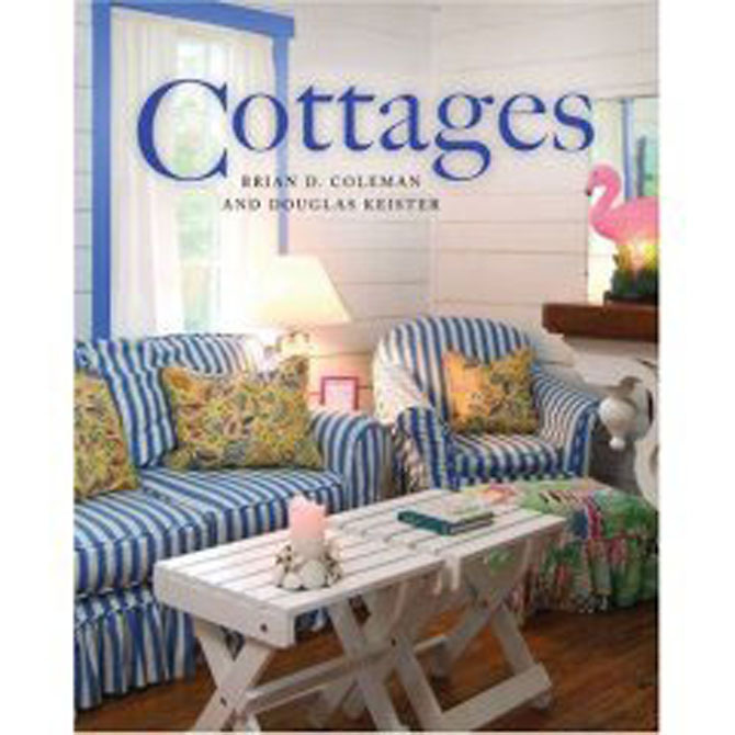 Cottages travels from coast to coast, sharing delightful examples from the Catskills of New York to Georgia's Tybee Island to Southern California and beyond. The popularity of cottage homes has continued to thrive; cottages share charming details that capture the imagination and creativity of their owners, from a built-in window seat to a front porch swing to an outdoor shower for washing sandy feet after a stroll on the beach. Whether it's a rustic mountain retreat, a sunny southern California casita or a simple seaside fishing shack, cottages are whimsical, welcoming and irresistible.