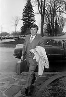 Guy St-Pierre, ministre de l'Industrie et du Commerce, le 26 avril 1971<br /> <br /> Photographe : Photo Moderne<br /> - agence Quebec Presse