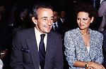 LOUIS MALLE CON CLAUDIA CARDINALE<br /> PREMIO DAVID DI DONATELLO ROMA 1988