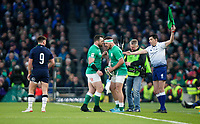 Saturday 1st February 2020 | Ireland vs Scotland<br /> <br /> Rob Herring during the 2020 6 Nations Championship   clash between Ireland and Scotland at he Aviva Stadium, Lansdowne Road, Dublin, Ireland. Photo by John Dickson / DICKSONDIGITAL