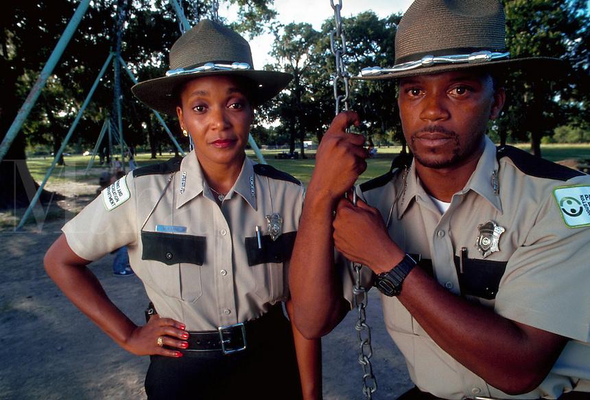 African-American urban park rangers, Texas