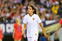 PHILADELPHIA, PA - AUGUST 29: Sílvia Rebelo #4 of Portugal during a game between Portugal and USWNT at Lincoln Financial Field on August 29, 2019 in Philadelphia, PA.