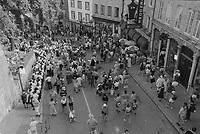 les fetes de la Nouvelle France, a Quebec<br /> entre 1995 et 2005<br /> (date exacte inconnnue)<br /> <br /> PHOTO : Agence Quebec Presse<br /> <br /> <br />  NOTE : Lorsque requis la photo commandée sera recadrée et ajustée parfaitement.