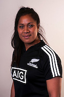 Linda Itunu. New Zealand Black Ferns headshots at The Rugby Institute, Palmerston North, New Zealand on Thursday, 28 May 2015. Photo: Dave Lintott / lintottphoto.co.nz