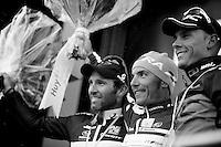 Fleche Wallonne 2012..podium:.1/ Joaquim Rodriguez.2/ Michael Albasini.3/ Philippe Gilbert.