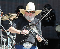 06 July 2020 - Country music and southern rock legend Charlie Daniels has passed away after suffering a stroke. The Grand Ole Opry member and Country Music Hall of Famer was 83. File Photo: 22 July 2011 - Twin Lakes, Wisconsin - The Charlie Daniels Band. Country Thunder, the four-day festival held July 21 - July 24 featuring entertainment from some of today's hottest artists rolls into town at Country Thunder East. Photo Credit: Ryan Pavlov/AdMedia