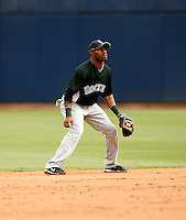 Eric Young Jr - Colorado Rockies - 2009 spring training.Photo by:  Bill Mitchell/Four Seam Images