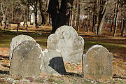 Old Burying Ground in Salem, New Hampshire USA.