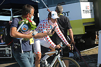 3rd September 2020; Le Teil to Mont Aigoual , France. Tour de France cycling tour, stage 6; Ag2r La Mondiale Cosnefroy, Benoit Mont Aigoual