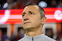 HOUSTON, TX - FEBRUARY 03: USWNT head coach Vlatko Andonovski during a game between Costa Rica and USWNT at BBVA Stadium on February 03, 2020 in Houston, Texas.