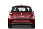 Straight rear view of a 2013 Seat Ibiza Style Hatchback