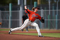 San Francisco Giants pitcher Phil Bickford (43) during an instructional league game against the Oakland Athletics on October 12, 2015 at the Giants Baseball Complex in Scottsdale, Arizona.  (Mike Janes/Four Seam Images)