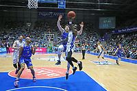 AJ English (Fraport Skyliners) gegen Sid-Marlon Theis (Basketball Löwen Braunschweig) - 12.03.2017: Fraport Skyliners vs. Basketball Löwen Braunschweig, Fraport Arena Frankfurt