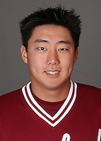STANFORD, CA - NOVEMBER 11:  Min Moon of the Stanford Cardinal during baseball picture day on November 11, 2009 in Stanford, California.