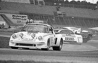 The #85 Porsche Porsche 911 Carrera RSR of Kikos Fonseca, Carlos Fallas, and Enrique Molins races to a 57th place finish in the SunBank 24 at Daytona, Daytona International Speedway, Daytona Beach, FL, Feb. 4-5, 1984. (Photo by Brian Cleary/www.bcpix.com)
