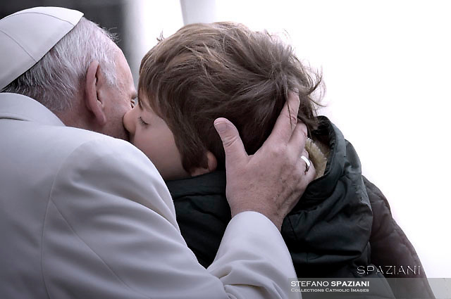Pope Francis special Jubilee Audience at Saint Peter's Square at the Vatican on January 30, 2016