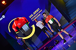 Dubai Tour 2018: The official route and the new jerseys of the Dubai Tour's 5th edition were unveiled during a big show in Al Mustaqbal Street at City Walk, where the 2018 race will finish. Dubai, United Arab Emirates. 18th December 2017.<br /> Picture: Dubai Sports Council/ Karappan Mohamed Hanifa   Cyclefile<br /> <br /> <br /> All photos usage must carry mandatory copyright credit (© Cyclefile   Karappan Mohamed Hanifa)