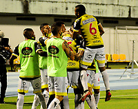 BARRANCABERMEJA - COLOMBIA, 29-10-2020: Alianza Petrolera vs Atletico Bucaramanga, durante partido de la 3ra ronda clasificacion vuelta por la Copa BetPlay DIMAYOR 2020 en el estadio Daniel Villa Zapata de la ciudad de Bucaramanga. / Alianza Petrolera vs Atletico Bucaramanga, during a match 3rd round qualifying second leg for the BetPlay DIMAYOR Cup 2020 at the Daniel Villa Zapata stadium in Bucaramanga city. / Photo: VizzorImage / Jose D. Martinez / Cont.