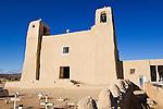 USA, NM, Acoma Pueblo, Sky City, San Esteban Del Rey Church