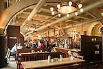 Germany, Bavaria, Upper Palatinate, Regensburg: brewery restaurant 'Fuerstliches Brauhaus', interior | Deutschland, Bayern, Oberpfalz, Regensburg: Fuerstliches Brauhaus, innen