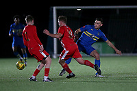 Samuel Dickens of Romford during Romford vs Tilbury, Pitching In Isthmian League North Division Football at Mayesbrook Park on 29th September 2021