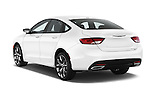 Car pictures of rear three quarter view of a 2015 Chrysler 200 S 4 Door Sedan 2WD Angular Rear