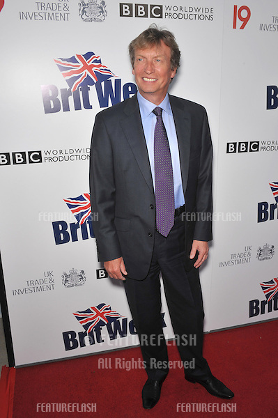 Nigel Lythgoe at the champagne launch party for BritWeek 2010 at the British Consul-General's residence in Los Angeles..April 20, 2010  Los Angeles, CA.Picture: Paul Smith / Featureflash