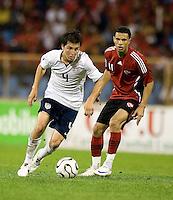 Jose Torres, 2010 FIFA World Cup qualifying.U.S. Men vs. Trinidad & Tobago.Hasely Crawford Stadium.Port of Spain, Trinidad.October 14, 2008.Trinidad and Tobago 2, USA 1