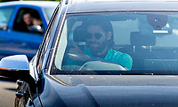 20th May 2020, Melwood Training ground, Liverpool, England;  Liverpools goalkeeper Alisson Becker arrives at Melwood in Liverpool to resume training on May 20, 2020. The Premier League clubs are allowed to start small-group training from Tuesday after the top-flight football league in England was suspended on March 13 due to coronavirus outbreak.
