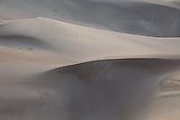 Great Sand Dunes National Park in pre-sunrise light.<br /> <br /> Canon EOS 5D, 70-200 f/2.8L lens