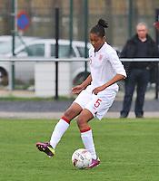 UEFA Women's Under 17 Championship - Second Qualifying round - group 1 : England - Iceland : .Elisha N'Dow.foto DAVID CATRY / Vrouwenteam.be