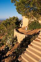 Spanien, Mallorca, Blick vom Santuari de la Consolacio