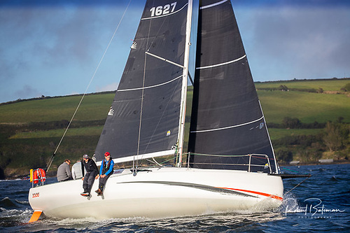 Cian McCarthy is sailing his Sunfast 3300,Cinnamon Girl double-handed in the Dun Laoghaire to Dingle Race Photo: Bob Bateman